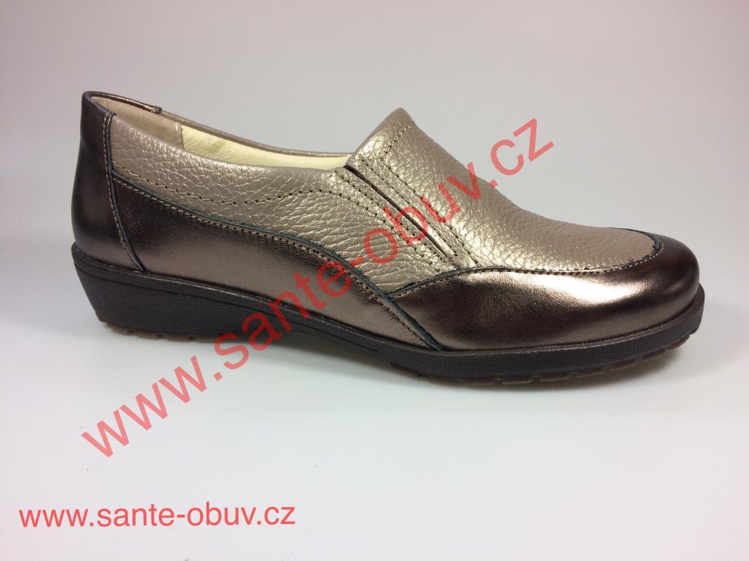 fa5eb050cbd5 SANTÉ CS 8057 GOLDEN vycházková obuv - SANTE OBUV