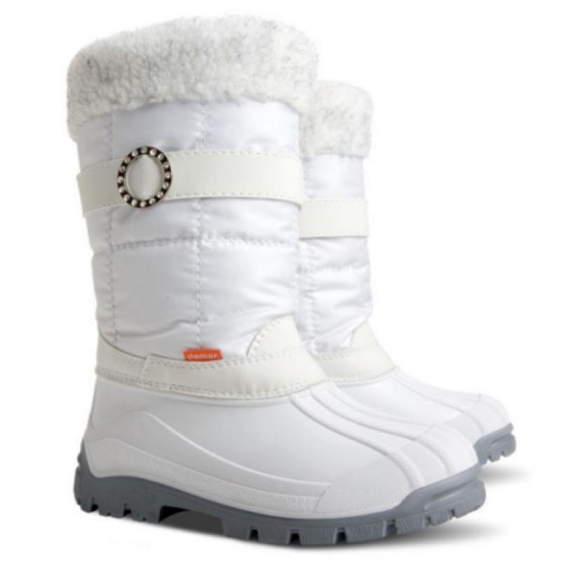 DEMAR sněhule ANETTE M A 1313 bílé vel.35-40