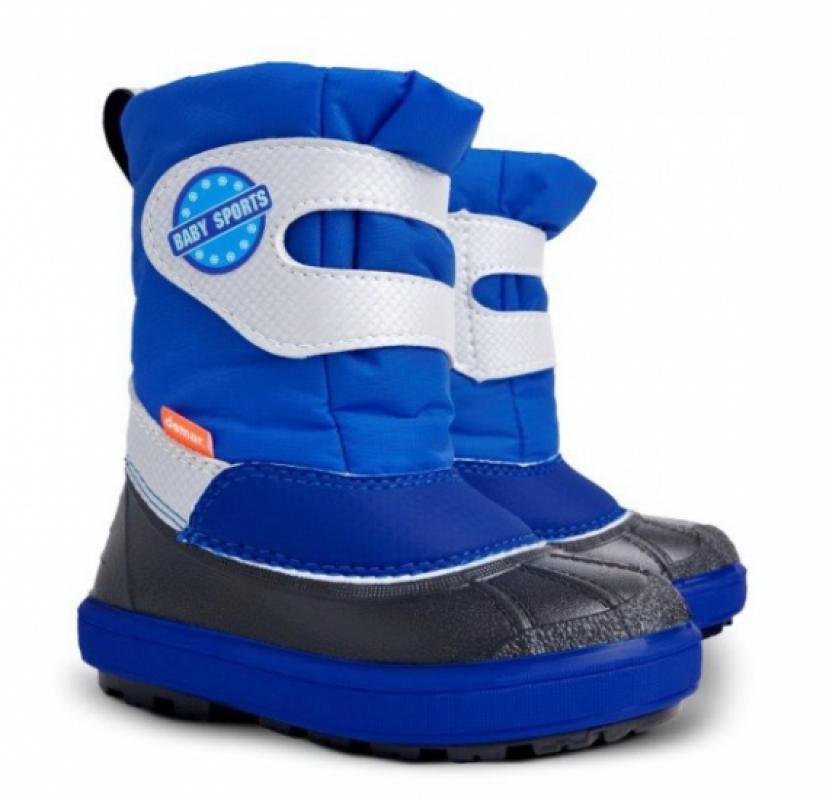 DEMAR dětské sněhule BABY SPORTS B 1506 modrá