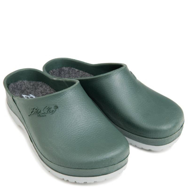 DEMAR MODEST CLOG 4441 A pantofle pánské zelené