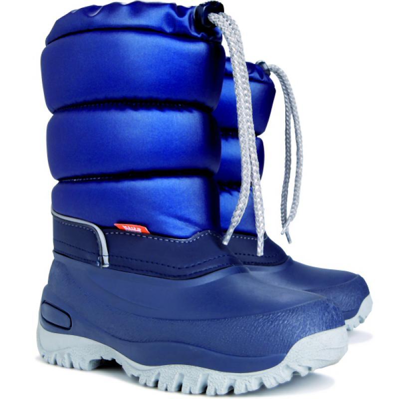 DEMAR dětské sněhule LUCKY A 1354 modré vel.25-35