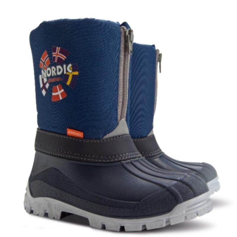 DEMAR dětské sněhule NEW NORDIC A 1312 modré.25-36