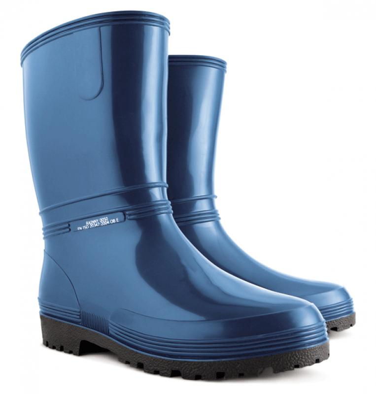 DEMAR holínky nízké RAINNY 0050 A modrá