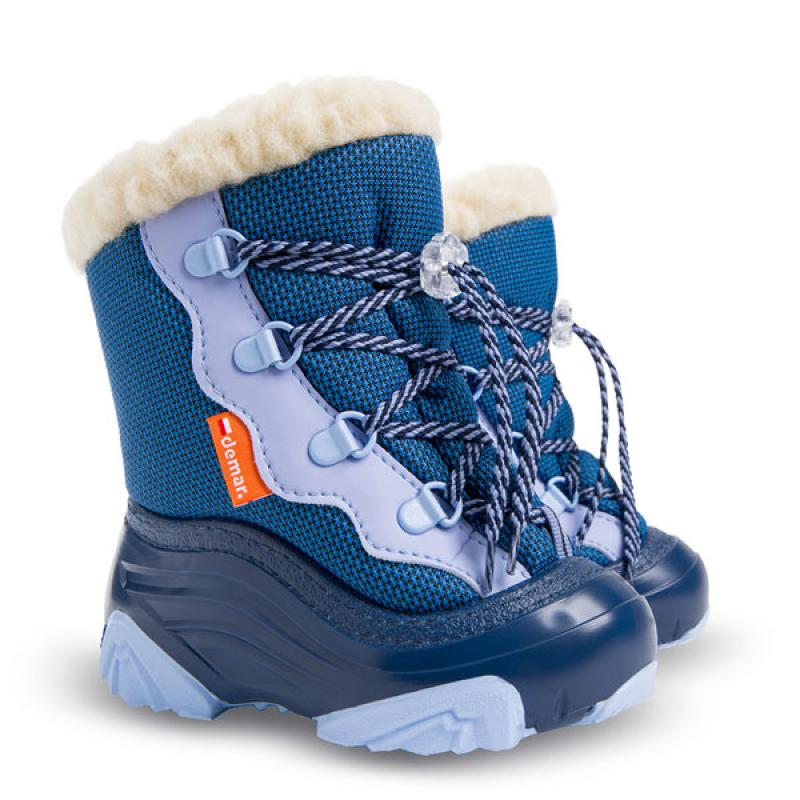 DEMAR dětské sněhule SNOW MAR 2 NC 4017 modré vel.20-29