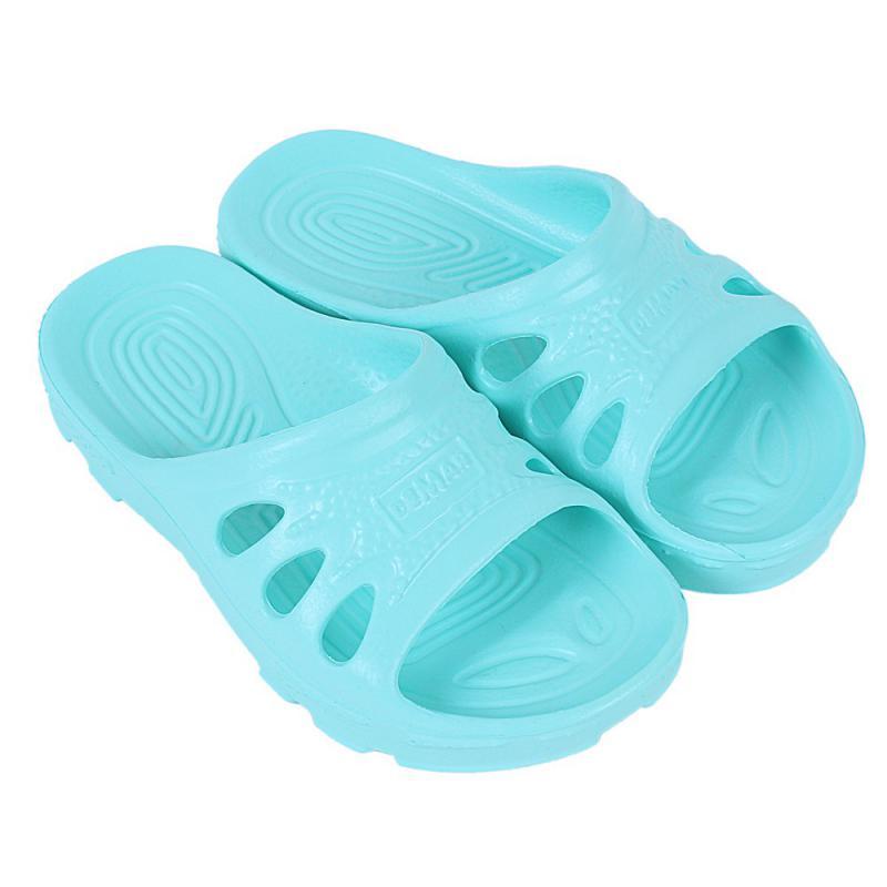 DEMAR dětské pantofle IBIZA 4701 B tyrkysové
