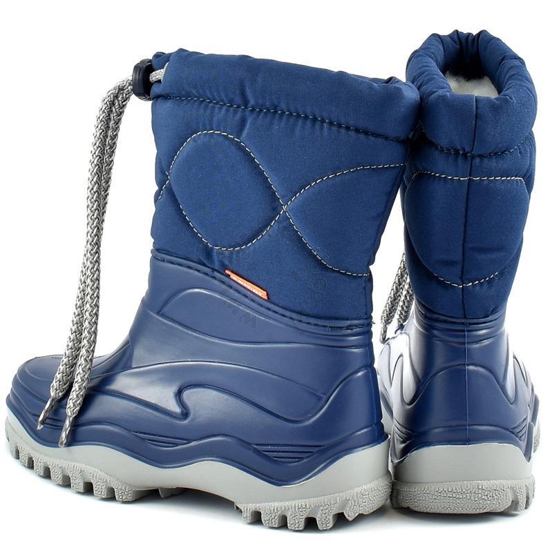 fc3bdce3d30 DEMAR dětské sněhule WINDY 0374 modré vel.24-35 - SANTE OBUV