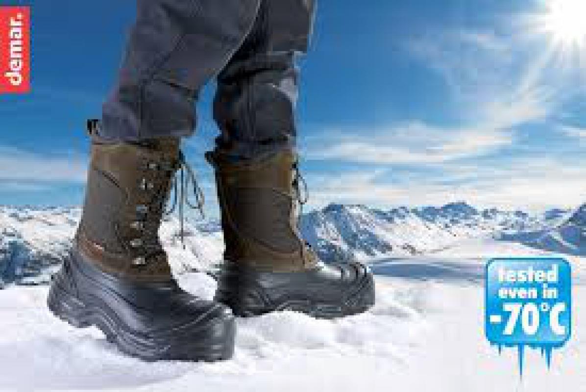 DEMAR zimní obuv YETTI PRO 3850 hnědá