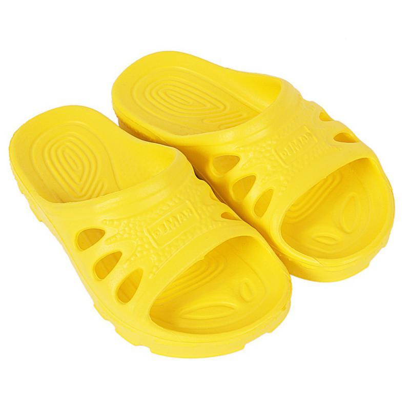 DEMAR dětské pantofle IBIZA 4701 D žluté